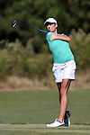 16 October 2016: Michigan State's Priscilla Harding. The Final Round of the 2016 Ruth's Chris Tar Heel Invitational NCAA Women's Golf Tournament hosted by the University of North Carolina Tar Heels was held at the UNC Finley Golf Club in Chapel Hill, North Carolina.