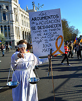 MAR 16 Catalonia Independence Protest