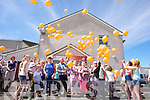 World Elder Abuse Awareness Day - Hundreds of Helium Balloons were set off by members and friends of Kingdom Care in the Tralee Mart to mark the occasion on Sunday