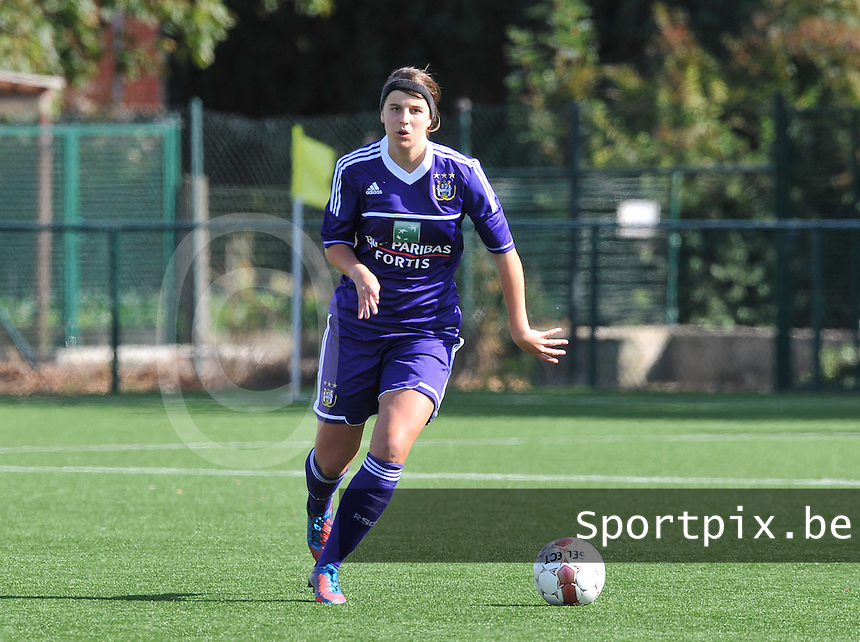 Dames Zulte Waregem - RSC Anderlecht : Laura De Neve.foto DAVID CATRY / Vrouwenteam.be