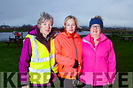 Trish Daly, Caroline Kennedy and Kate Reidy at the Let's get Kerry walking, National Operation Transformation Walk in the Tralee Bay Wetlands on Saturday.