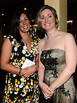 Lorraine Young and Una Caragher pictured at St Annes Camogie Club annual dinner in the Grove Hotel Dunleer. Photo:Colin Bell/pressphotos.ie
