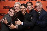 Jack DiFalco, Mercedes Ruehl, Harvey Fierstein, Michael Rosen, Ward Horton and Moises Kaufman attends the Off-Broadway Opening Night After Party for the Second Stage Production on 'Torch Song' on October 19, 2017 at Copacabana in New York City.