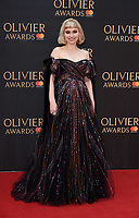 Imogen Poots arriving for the Olivier Awards 2018 at the Royal Albert Hall, London, UK. <br /> 08 April  2018<br /> Picture: Steve Vas/Featureflash/SilverHub 0208 004 5359 sales@silverhubmedia.com