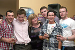 Barry Flanagan with his mam and friends at his 21st O'Raghallaigh's...Photo NEWSFILE/Jenny Matthews.(Photo credit should read Jenny Matthews/NEWSFILE)....This Picture has been sent you under the condtions enclosed by:.Newsfile Ltd..The Studio,.Millmount Abbey,.Drogheda,.Co Meath..Ireland..Tel: +353(0)41-9871240.Fax: +353(0)41-9871260.GSM: +353(0)86-2500958.email: pictures@newsfile.ie.www.newsfile.ie.FTP: 193.120.102.198.
