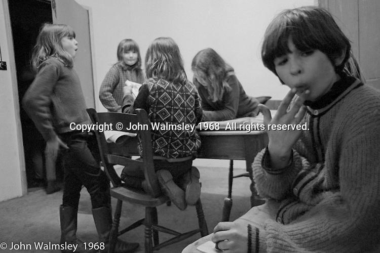 , Summerhill school, Leiston, Suffolk, UK. 1968.