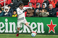 WASHINGTON, DC - FEBRUARY 29: Sam Vines #13 of the Colorado Rapids on the attack during a game between Colorado Rapids and D.C. United at Audi Field on February 29, 2020 in Washington, DC.
