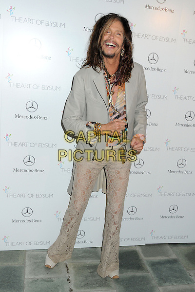 11 January 2014 - Los Angeles, California - Steven Tyler. 7th Annual Art of Elysium Heaven Gala held at the Skirball Cultural Center.  <br /> CAP/ADM/BP<br /> &copy;Byron Purvis/AdMedia/Capital Pictures