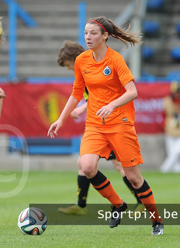 Bekerfinale vrouwen 2015 : Lierse-Club Brugge Vrouwen :<br /> <br /> Nicky Van den Abbeele<br /> <br /> foto VDB / BART VANDENBROUCKE