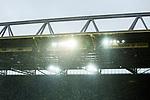 09.03.2019, Signal Iduna Park, Dortmund, GER, 1.FBL, Borussia Dortmund vs VfB Stuttgart, DFL REGULATIONS PROHIBIT ANY USE OF PHOTOGRAPHS AS IMAGE SEQUENCES AND/OR QUASI-VIDEO<br /> <br /> im Bild   picture shows:<br /> Signal Iduna Park im Regen   Wetter   Unwetter<br /> <br /> Foto &copy; nordphoto / Rauch