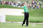 Charl Schwartzel tees off on the par 3 17th hole in the final round of the Open de Espana in Madrid..Photo NEWSFILE/Manus O'Reilly.(Photo credit should read Manus O'Reilly/NEWSFILE)....This Picture has been sent you under the condtions enclosed by:.Newsfile Ltd..The Studio,.Millmount Abbey,.Drogheda,.Co Meath..Ireland..Tel: +353(0)41-9871240.Fax: +353(0)41-9871260.GSM: +353(0)86-2500958.email: pictures@newsfile.ie.www.newsfile.ie.FTP: 193.120.102.198..