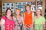 Francis Hayes, Bridget Naughton, Mary Maher and Hannah White pictured last Friday at a special school reunion in Colaiste Ide agus Iosef, Abbeyfeale.
