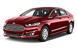 2015 Ford Mondeo Titanium 5 Door Hatchback Angular Front stock photos of front three quarter view