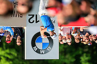 Danny Willett (ENG) on the 12th during round 3 of the 2016 BMW PGA Championship. Wentworth Golf Club, Virginia Water, Surrey, UK. 28/05/2016.<br /> Picture Fran Caffrey / Golffile.ie<br /> <br /> All photo usage must carry mandatory copyright credit (© Golffile   Fran Caffrey)
