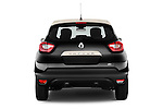 Straight rear view of a 2013 Renault Captur Intens SUV