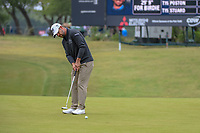 Ryan Moore (USA) watches his putt on 1 during Round 3 of the Valero Texas Open, AT&amp;T Oaks Course, TPC San Antonio, San Antonio, Texas, USA. 4/21/2018.<br /> Picture: Golffile | Ken Murray<br /> <br /> <br /> All photo usage must carry mandatory copyright credit (&copy; Golffile | Ken Murray)
