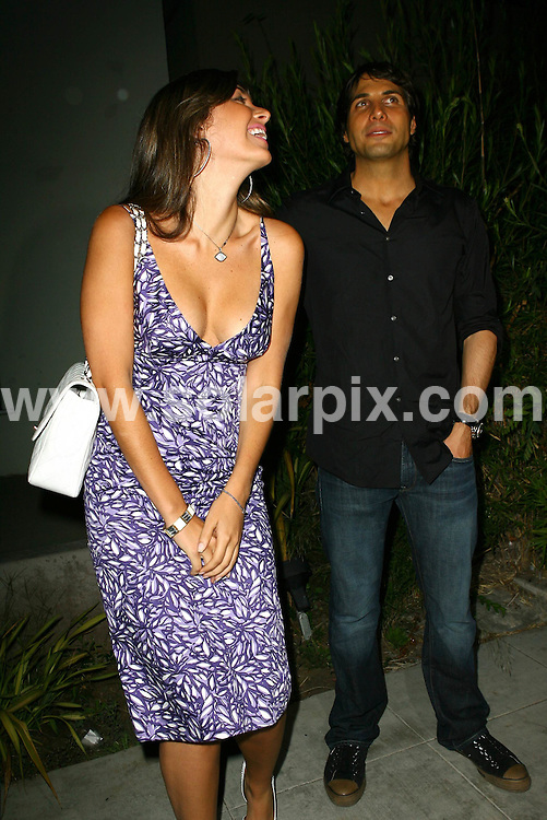 **ALL ROUND PICTURES FROM SOLARPIX.COM**.**WORLDWIDE SYNDICATION RIGHTS**.**NO PUBLICATION IN USA, DENMARK, GERMANY OR RUSSIA**.Brittny Gastineau and Joe Francis seen together outside Crown Bar in West Hollywood, CA, USA, 21st August 2008..This pic: Brittny Gastineau and Joe Francis..JOB REF: 7088 LAP/Lancer HD      DATE: 21_08_2008.**MUST CREDIT SOLARPIX.COM OR DOUBLE FEE WILL BE CHARGED* *UNDER NO CIRCUMSTANCES IS THIS IMAGE TO BE REPRODUCED FOR ANY ONLINE EDITION WITHOUT PRIOR PERMISSION*