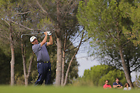 Jose Maria Olazabal (ESP) on the 7th during the second round of the Mutuactivos Open de Espana, Club de Campo Villa de Madrid, Madrid, Madrid, Spain. 04/10/2019.<br /> Picture Hugo Alcalde / Golffile.ie<br /> <br /> All photo usage must carry mandatory copyright credit (© Golffile | Hugo Alcalde)