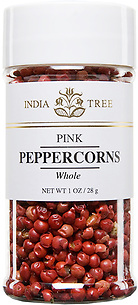 30223 Pink Peppercorns, Small Jar 1 oz, India Tree Storefront