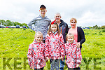 The Dunne family from Rathkeale enjoying the Castleisland Races on Sunday.<br /> Front l to r: Ania, Karina and Sofia Dunne.<br /> Back l to r: Danny, Billy and Ina Dunne.