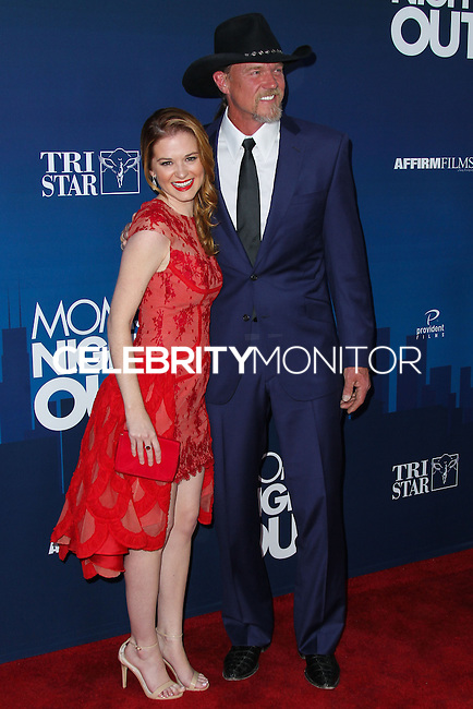 "HOLLYWOOD, LOS ANGELES, CA, USA - APRIL 29: Sarah Drew, Trace Adkins at the Los Angeles Premiere Of TriStar Pictures' ""Mom's Night Out"" held at the TCL Chinese Theatre IMAX on April 29, 2014 in Hollywood, Los Angeles, California, United States. (Photo by Xavier Collin/Celebrity Monitor)"
