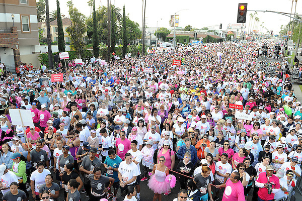 LOS ANGELES - MAY 10: General atmosphere at the 21st Annual EIF Revlon Run/Walk For Women at Los Angeles Memorial Coliseum at Exposition Park on May 10, 2014 in Los Angeles, California.  PGMicelotta/MediaPunch