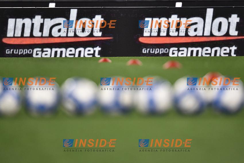 Palloni Puma Pubblicita' Intralot  <br /> Roma 27-02-2017, Stadio Olimpico<br /> Football Friendly Match  <br /> Italy - Spain Under 21 Foto Andrea Staccioli Insidefoto