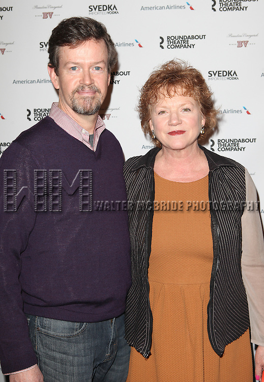 Dylan Baker & Becky Ann Baker attending the Roundabout Theatre Company's 2013 Spring Gala at Hammerstein Ballroom in New York City on 3/11/2013