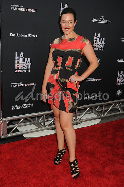 "10 June 2015 - Los Angeles, California - Maggie Kiley. LA Film Festival 2015 Opening Night Premiere of ""Grandma"" held at Regal Cinemas LA Live. Photo Credit: Byron Purvis/AdMedia"
