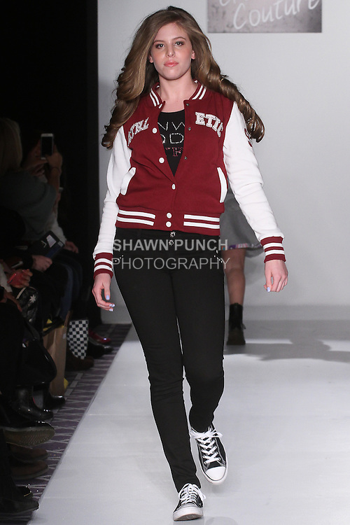 Image from the Bound By The Crown Fall Winter 2016 collection runway show by Susanna Barrett Paliotta, presented at Fashion Gallery New York Fashion Week, during New York Fashion Week Fall 2016.
