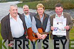 Local artists and song-writer Ted Leizcyneski have come together to launch a CD to raise funds for the Mercy Hospital Cancer appeal in memory of Margaret Leizcyneski who passed away in December 2010. .L-R Con Houlihan, Sean O'Donoghue, Noel Hartnett and Ted Leizcyneski.
