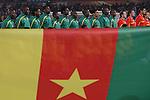 19 JUN 2010: Cameroon starting eleven. The Denmark National Team defeated the Cameroon National Team 2-1 at Loftus Versfeld Stadium in Tshwane/Pretoria, South Africa in a 2010 FIFA World Cup Group E match.