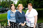 l-r  Margaret O'Shea, Ann Hannon and Kay Hunt enjoying  the 'Step For Smiles' charity walk in aid of cancer awareness charity the Marie Keating Foundation on Sunday in Tralee Town Park