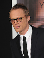 Paul Bettany at the Los Angeles premiere of his movie &quot;Transcendence&quot; at the Regency Village Theatre, Westwood.<br /> April 10, 2014  Los Angeles, CA<br /> Picture: Paul Smith / Featureflash
