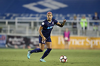 Cary, North Carolina  - Saturday September 09, 2017: Jaelene Hinkle during a regular season National Women's Soccer League (NWSL) match between the North Carolina Courage and the Houston Dash at Sahlen's Stadium at WakeMed Soccer Park. The Courage won the game 1-0.