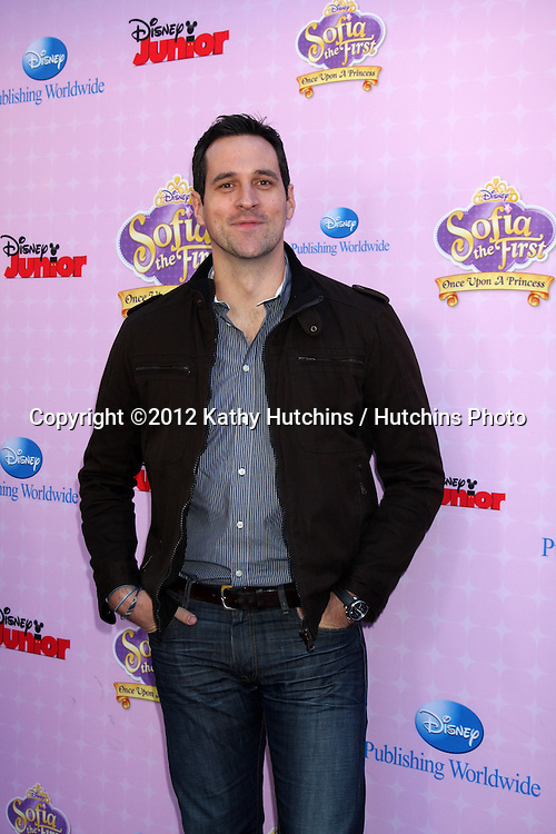 "LOS ANGELES - NOV 10:  Travis Willingham arrives at the ""Sofia The First: Once Upon a Princess"" Premiere And Story Book Launch at Walt Disney Studios on November 10, 2012 in Burbank, CA"