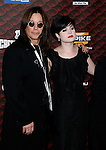 "LOS ANGELES, CA. - October 18: Musician Ozzy Osbourne and Kelly Osbourne arrive at the Spike TV's ""Scream 2008"" Awards at The Greek Theater on October 18, 2008 in Los Angeles, California."