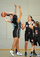 Action from day three of the National Under-15 Basketball Championship at the ASB Sports Centre, Kilbirnie, Wellington, New Zealand on Friday, 26 July 2013. Photo: Dave Lintott / lintottphoto.co.nz