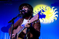 Angus and Julia Stone performing at The Forum, Melbourne, 26 June 2007