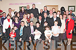PINK CHRISTENING: Tommy O'Connor and Nicola Costello, Tralee (seated centre) celebrated the christening of their new baby girl Ava in the Kerins O'Rahilly's GAA clubhouse last Saturday evening surrounded by family and friends.   Copyright Kerry's Eye 2008
