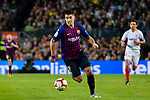 Luis Suarez of FC Barcelona in action during the La Liga 2018-19 match between FC Barcelona and Sevilla FC at Camp Nou Stadium on October 20 2018 in Barcelona, Spain. Photo by Vicens Gimenez / Power Sport Images