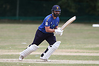 Ollie Ekers of Shenfied during Harold Wood CC vs Shenfield CC (batting), Essex Cricket League Cricket at Harold Wood Park on 25th July 2020