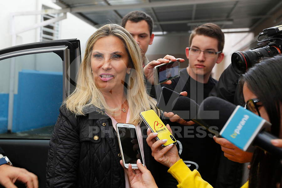 CURITIBA, PR, 07.10.2018 – ELEIÇÕES-PR – A governadora e candidata ao governo do Paraná, Cida Borghetti (PP),durante votação em Curitiba (PR) na manhã deste domingo (07). (Foto: Paulo Lisboa/Brazil Photo Press)