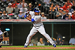 13 September 2008: Kansas City Royals' outfielder Jose Guillen in action against the Cleveland Indians at Progressive Field in Cleveland, Ohio. The Royals defeated the Indians 8-4 in the second game, sweeping their double-header...Mandatory Photo Credit: Ed Wolfstein Photo