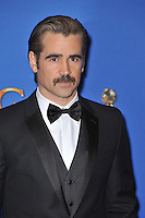 Colin Farrell at the 72nd Annual Golden Globe Awards at the Beverly Hilton Hotel, Beverly Hills.<br /> January 11, 2015  Beverly Hills, CA<br /> Picture: Paul Smith / Featureflash