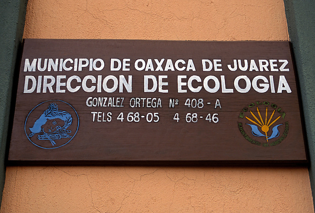 Environmental Management, Oaxaca, Oaxaca State, Mexico, North America