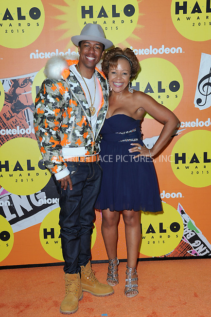 WWW.ACEPIXS.COM<br /> November 14, 2015 New York City<br /> <br /> Nick Cannon and Beth Gardner attending the 2015 Nickelodeon HALO Awards at Pier 36 on November 14, 2015 in New York City.<br /> <br /> Credit: Kristin Callahan/ACE<br /> Tel: (646) 769 0430<br /> e-mail: info@acepixs.com<br /> web: http://www.acepixs.com