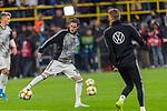 09.10.2019, Signal Iduna Park, Dortmund, GER, FSP, LS, Deutschland (GER) vs Argentinien (ARG)<br /> <br /> DFB REGULATIONS PROHIBIT ANY USE OF PHOTOGRAPHS AS IMAGE SEQUENCES AND/OR QUASI-VIDEO.<br /> <br /> im Bild / picture shows<br /> <br /> Sebastian Rudy (Deutschland / GER #18)<br /> <br /> während Freundschaftsspiel  Deutschland gegen Argentinien   in Dortmund  am 09.10..2019,<br /> <br /> Foto © nordphoto / Kokenge