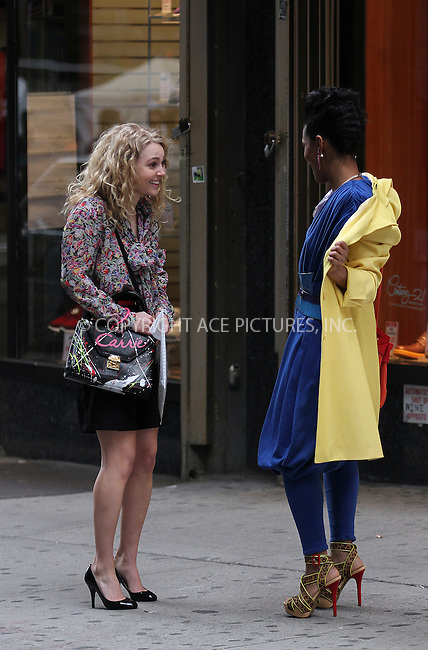 WWW.ACEPIXS.COM . . . . .  ....March 25 2012, New York City....Actress AnnaSophia Robb on the downtown Manhattan set of the new 'Sex and The City' TV prequel 'The Carrie Diaries' on March 25 2012 in New York City....Please byline: Zelig Shaul - ACE PICTURES.... *** ***..Ace Pictures, Inc:  ..Philip Vaughan (212) 243-8787 or (646) 769 0430..e-mail: info@acepixs.com..web: http://www.acepixs.com