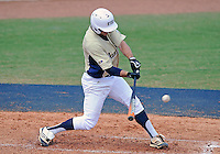Florida International University infielder/outfielder Tyler James Shantz (5) plays against Florida Atlantic University. FAU won the game 9-3 on March 18, 2012 at Miami, Florida.